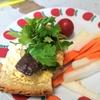 【1食54円】パクチーまぐろアヒージョ卵サラダパンの自炊レシピ