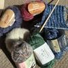 手編みでスヌード
