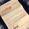 ホワイトハウスのトランプ大統領から来た手紙