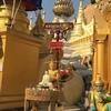 【ヤンゴン】シュエダゴン・パゴダとボージョーアウンサンマーケット【ミャンマー旅行記】