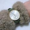 腕時計knotの革ベルトの穴を増やしてみました。