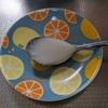 糖質&カロリーを気にせずに練乳のかき氷が食べたいから、ラカントで練乳を作ってみました。