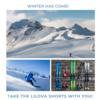 スキーやスノボーにも、吸収型サニタリーショーツが便利ですよ!