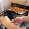 幸運な病のレシピ( 1424 )朝 :青椒肉絲風、鶏唐揚、鮭、ブリ味噌漬