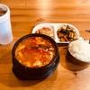 体調不良の時はスンドゥブチゲがお決まり…  クラークスビルのBibimbop で食べました。