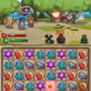 【iPhone/androidアプリレビュー】Hero Emblems(ヒーローエンブレム) - 王道に忠実に、丁寧に作られた3マッチパズルRPG!雰囲気はゆるいがやり応えは十分!