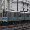E127系100番台(松本車)A6編成入場