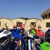 アブダビ自転車部、再び海へ