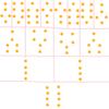 ジオマンシー:シールドチャートの作り方