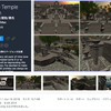 【無料化アセット】立体感のある石造りの神殿3Dモデル / 大聖堂と墓地の3Dモデル / ファンタジースタイルの民家3Dモデル(近々削除予定のアセット3作同時に無料化)「(P&W) Temple Edition」