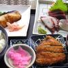 無料の脳トレクイズゲーム「恵比寿ガーデンプレイスのレストラン街にあったやきとり戎のランチ定食」15秒で写真が変化するよ♪