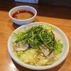 【広島つけ麺 かず】酸味と辛味のバランスがいいつけダレ(東区光町)