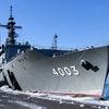 輸送艦くにさきLST-4003&LCAC in釧路港 2020年2月2日
