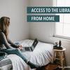 アイキャッチ「自宅からの図書館利用の広報」