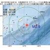 2017年07月28日 19時02分 北海道東方沖でM2.9の地震