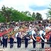 夏を迎える風物詩 旭川市北海道音楽大行進