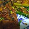 スパニッシュオムレツ 02 野菜のみ