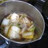寒い日には湯豆腐を
