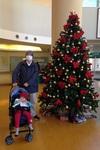 【日常】嫁の通院で行った国立成育医療研究センターは、いい感じの「クリスマスモード」に入ってました(笑)