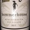 Summerhouse Marlborough Pinot Noir 2015