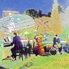 国立ストリートピアノ Vol.4「Play Me, I'm Yours 」ドラム&コントラバス出現!!👀即興お花見演奏会♪