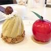 おとぎ話みたい!林檎のケーキと和栗のモンブラン(パレグレイス @新横浜)