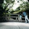 明治神宮とその御苑で子どもと一緒にスナップ撮影