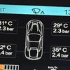 「F12 タイヤの空気圧とラゲッジフロアの温度」