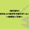 【投げ釣り】夏のちょい投げキス釣りゲーム!〜明和サーフ編〜