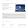 Windows 10 Tech Preview is now Available