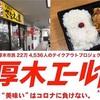 【厚木エール飯】さなえん家の超ボリューム弁当580円【テイクアウト】