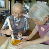 28年8月20日 カボチャ饅頭作り