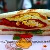 <高雄>大ㄎㄡ胖碳烤三明治 ~おすすめB級グルメ!具だくさんの炭焼きサンドイッチ~