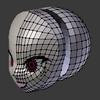 Blender備忘録14頁目「頭部のモデリング6」
