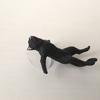 謎の黒猫(おもちゃ)!