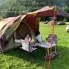 夏の連休 4日目 家族キャンプday2