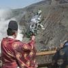 阿蘇山上で安全祈願祭