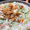 セイコ蟹の香箱と百合根の炊き込みご飯、エストラゴン風味