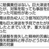 津波対策、国の責任否定 「原発事故を回避できなかった可能性」 - 東京新聞(2017年9月23日)