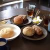 ブランジュリタケウチのパンで朝ごはん