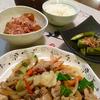 本日の晩ごはん ~普通の野菜炒め