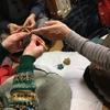 ぷっくりお花の編み物教室