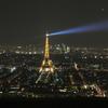 モンパルナスタワーからエッフェル塔を見る夜景 ~2014 欧州旅行記 その33~