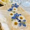 押し花のiPhoneケース
