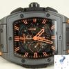 ウブロBigBang魂の完全の黒い腕時計