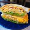 【レシピ】とろーりチーズ♡ベーコンと卵のカレーホットサンド♬