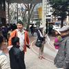 広瀬川が作り出した高低差のある地形を活かしてデザインされた街、それが仙台。「仙台ふららん」まち歩きツアー