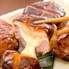 レシピ「しいたけのチーズ肉詰め」ごはんに良く合う