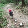 3歳児が初めての登山。山頂でカップラーメン初体験。