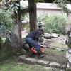 月1回の慎太郎記念公園周辺清掃。